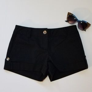 Express Design Studio - Black shorts - Size 0
